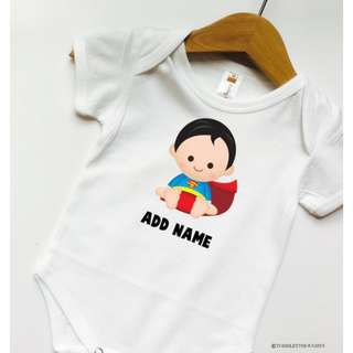 [PRE-ORDER] Customized BabyBoy Romper