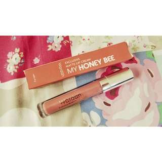 NEW - Wardah Exclusive Matte Lipcream Shade no.14 My Honey Bee
