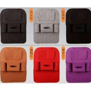 现货💥💥汽车座椅收纳袋挂袋车用椅背置物袋汽车用品