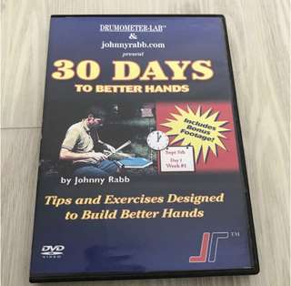 30 Days To Better Hands by Johnny Rabb