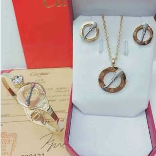 Cartier Jewelry Set COD #003