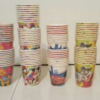 BN PARTY CARTOON PAPER CUPS