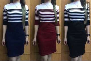 Knitted Dress ( good quality) FreeSize/ Fit up to large frame