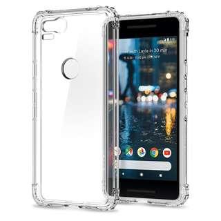 Spigen Google Pixel 2 Crystal Shell Case (Authentic)