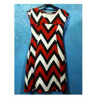REPRICED! M Missoni Stretchable Triangle-striped tank Dress
