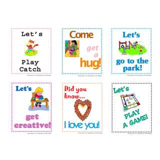 Affirmation Notes and Coupons for Young Children
