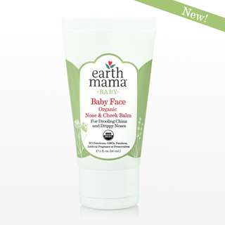 EARTH MAMA - Baby Face Organic Nose And Cheek Balm, 60ml