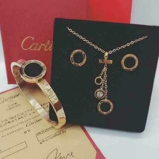 Cartier Jewelry Set COD #004