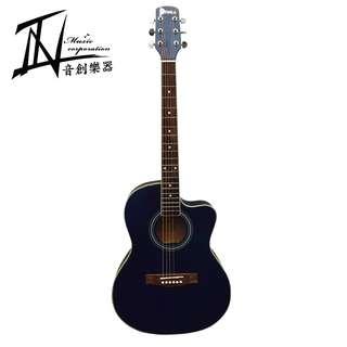 DEBRA 消光藍合板木吉他