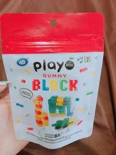 B129 泰國 Gummy Block7-11啫喱糖(LEGO)