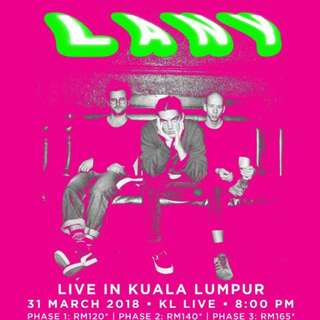 LANY Live in Malaysia 2018
