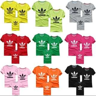 Adidas Tshirt - Family Set C