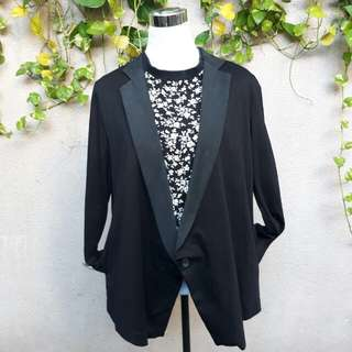 Plus size office blazer