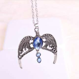 Harry Potter Ravenclaw Diadem Crown necklace