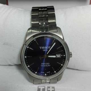 Tissot PR100 Titanium Quartz T049410 Men's Watch