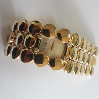 Gold Plated Dolce& Gabanna Ladies Watch