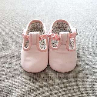 Mothercare Pink baby girl shoes sz UK3