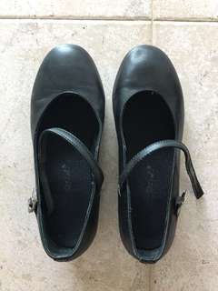 Black Tap Dancing Shoes