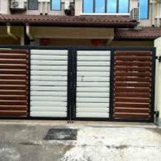 Gate aluminium area johor bahru