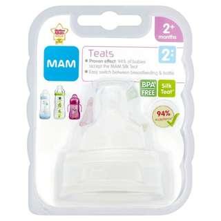 MAM silicone treat 2 mths