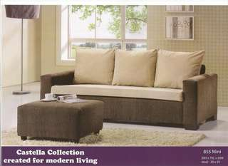 Low price L-shape sofa 855 MINI