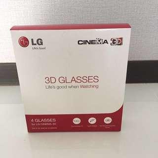 LG 3D Cinema Glasses