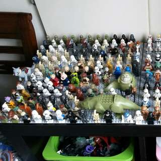 Lego Star Wars Minifigures Lot (76 minifigures)