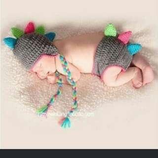 Dino Newborn Photoshoot Outfit