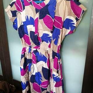 Multicolored Dress - Large