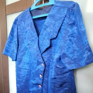 Formal Top Blouse and Skirt (matching) - X Large