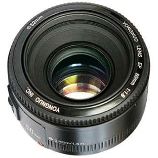 YN50mm F1.8 for Canon