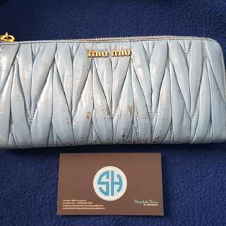 PL Miu Miu Leather Wallet