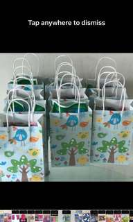 Goody bag- paper bag for party goodies bag