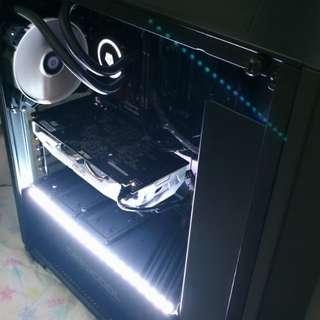 Custom Gaming PC (i5-8600k + liquid cooling + GTX1060 graphics) ( Desktop NVIDIA AMD INTEL RGB MMORPG GAME FPS ASUS MSI GALAX ZOTAC SSD GTX1050 GTX1070 I3 I5 I7 RYZEN )