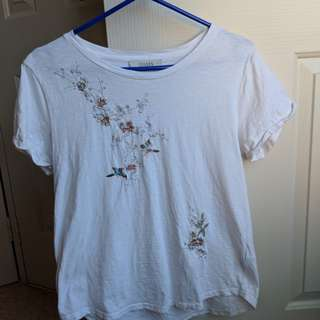 Oasis Embroidered Tshirt