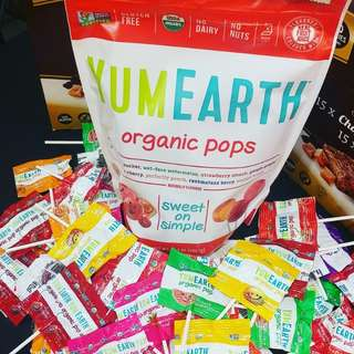 ✨YUMEARTH ORGANIC POPS 50pcs✨