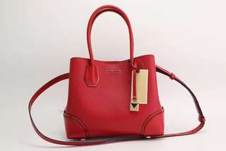 Michael Kors Mercer corner bag - red