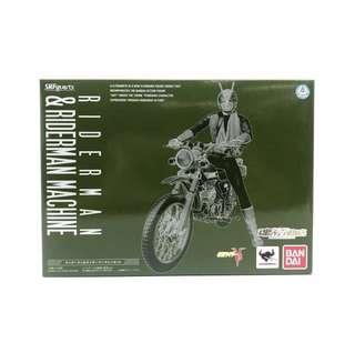 近全新 Bandai SHF Masked Rider Riderman & Riderman Machine