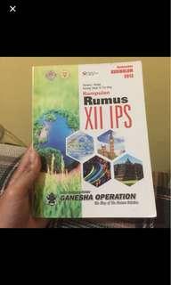 Kumpulan Rumus kelas XII IPS Ganesha Operation