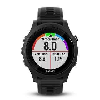 GARMIN Forerunner 935 GPS智能運動手錶 (英文版) (黑色/灰色)