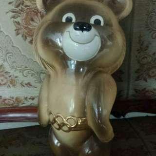 Celengan Beruang Antik