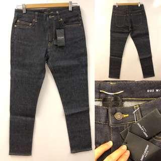 New Saint Laurent Paris jeans size 28