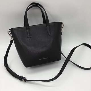 Marc Jacobs Hand Carry Satchel / Crossbody Bag - black