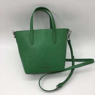 Marc Jacobs Hand Carry Satchel / Crossbody Bag - green