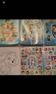 Instock A5 paw Patrol Coloring And Stickers Book ideal for birthday goodies item Bulk discount pm me