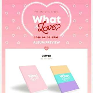 Twice-What is Love (5th Mini Album)