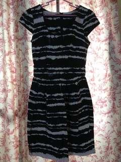 Dorothy Perkins black & white dress