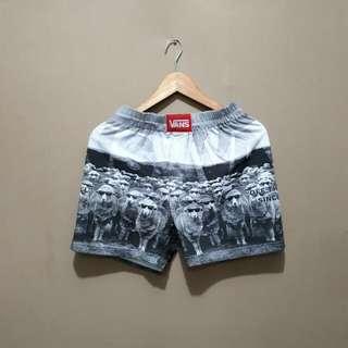 Celana Pria Walkshort Premium Printing