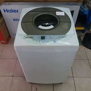 Daewoo 7kg washing machine fully automatic One month warranty. Body conditions 80%ok Working conditions 100%ok You can call ro SMS/whatsup 01131838436