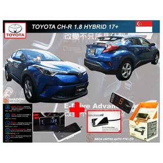 Toyota C-HR Hybrid 1.8 A 17+  -  SHAODW DMETER STANDARD